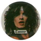 Motley Crue - 'Tommy White' Button Badge